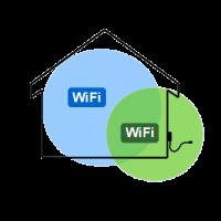 Prolongateur WiFi - Installé et configuré